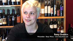 Remy Drabkin at the Broadway Wine Merchants
