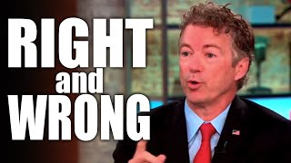 Rand Paul Would Be Right On Spying If He Wasn