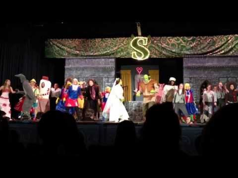 Shrek ~ I'm a Believer ~ Dover Area High School 2014 High School play