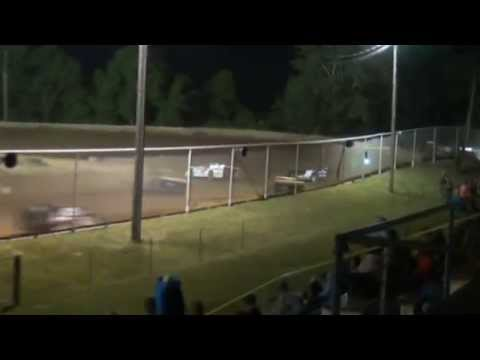 "Ohio Valley Speedway Super Late Model ""Hillbilly 100 Qualifier"" 6-7-2014"
