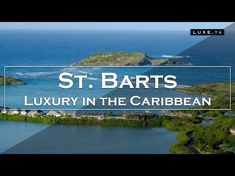 High tourist season in St Barts