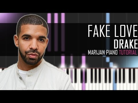 How To Play: Drake - Fake Love | Piano Tutorial