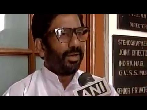I hit Air India staffer 25 times with slippers: Ravindra Gaikwad
