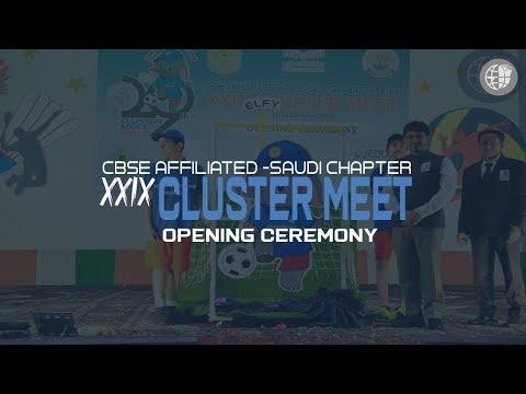 XXIX Cluster Meet   Opening Ceremony