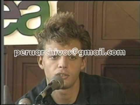 Luis Miguel en Lima 1990