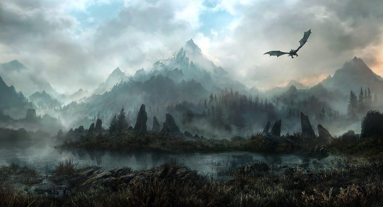 Skyrim : World of Beauti (Skyrim with SweetFX)