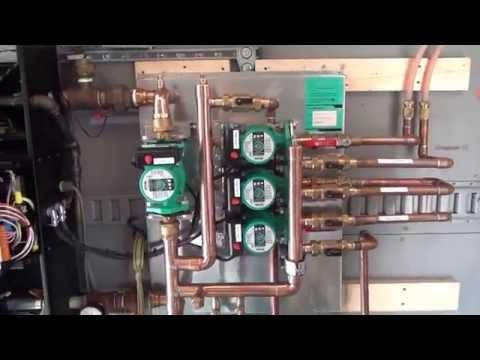 Hydronic IBC Boiler Heating Panel