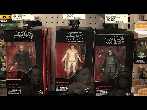 TOY HUNTING FOR THE NEW BLACK SERIES FIGURES!!!!