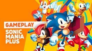 Sonic Mania Plus - Gameplay ao vivo!