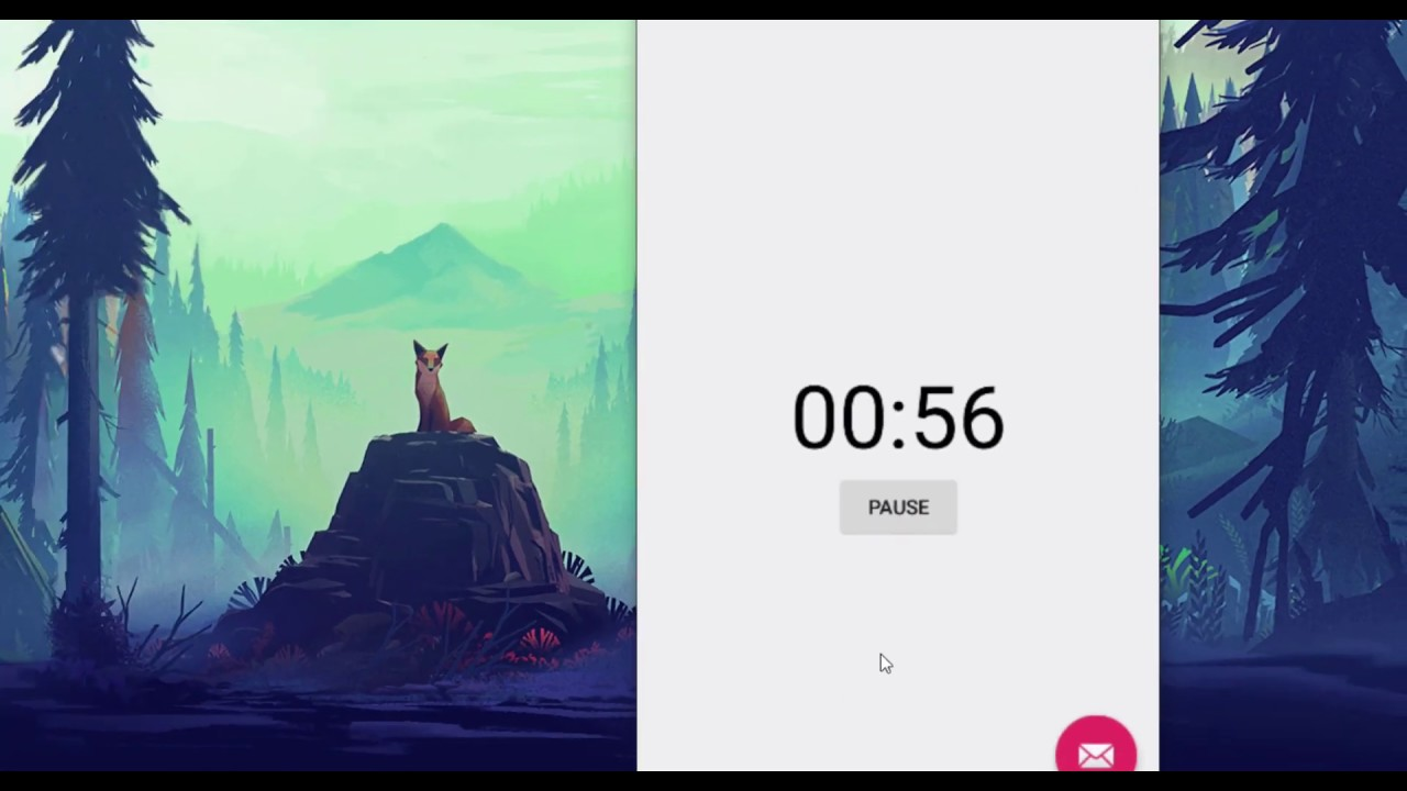 Aporia #3 working with countdown timer using android studio part 2