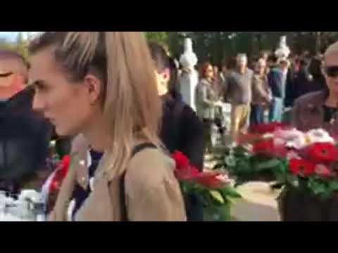 Sahrana Donne Ares na gradskom mezarju Humci u Bihaću