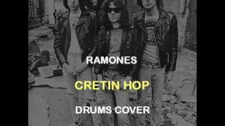 Ramones - Cretin Hop (Drums Backing Track Cover)