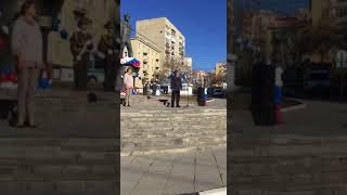 Жители Саратова начали День космонавтики с митинга
