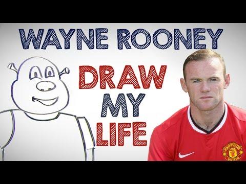 Wayne Rooney | Draw My Life
