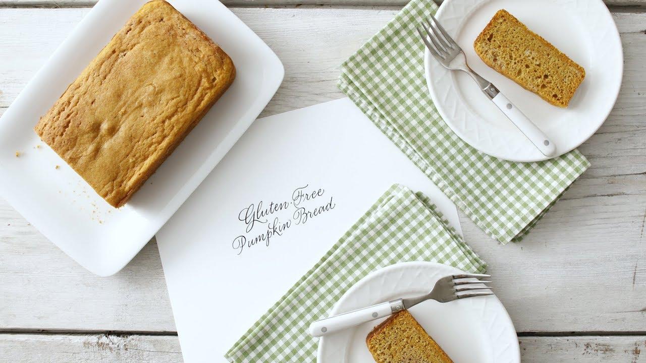 Nicely Spiced Gluten-Free Pumpkin Bread- Martha Stewart - YouTube