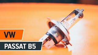 Cómo cambiar las luces delanteras en VW PASSAT B5+ [INSTRUCCIÓN]