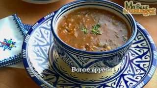 Recette De Harira : Soupe Traditionnelle Marocaine / Traditional Moroccan Soup