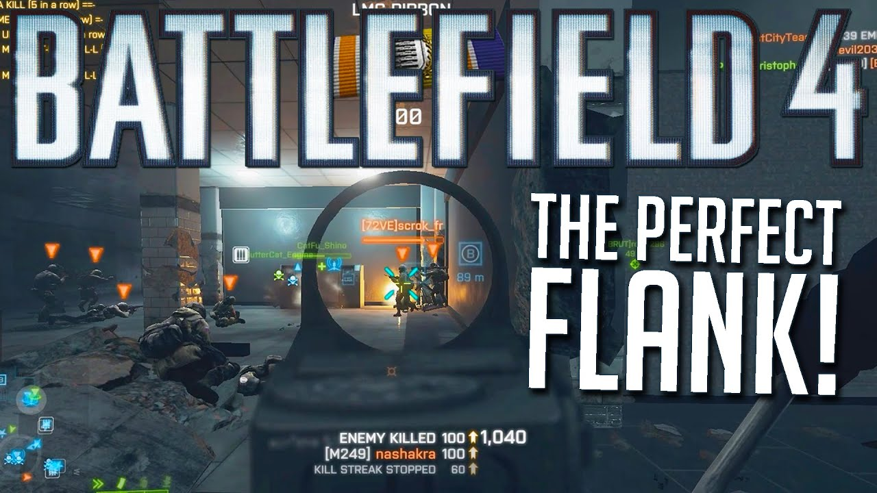 I wish I could play like this in Battlefield 4 😮