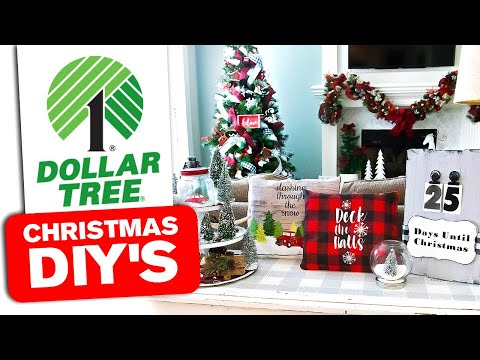 Dollar Tree DIY Christmas Tiered Tray DIY 🎄 Christmas Sign 2019