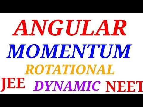 Angular momentum in rotational motion in hindi