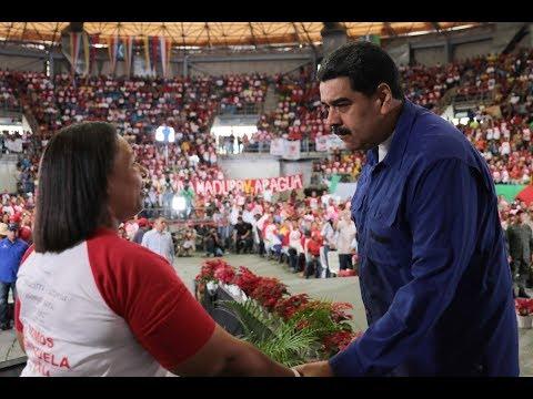 Presidente Nicolás Maduro con el Movimiento Somos Venezuela, 16 noviembre 2017