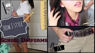 How I Style School Uniforms