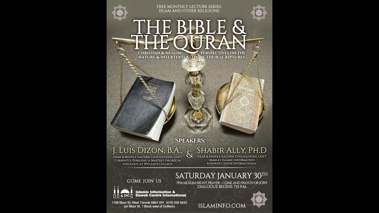 Shabir Ally & Luis Dizon Discuss The Bible & The Quran