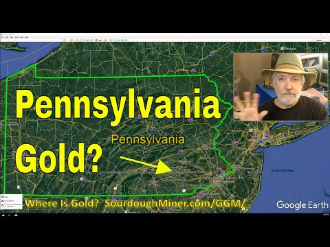 Where Can I Find Gold In Pennsylvania (Gold Prospecting)