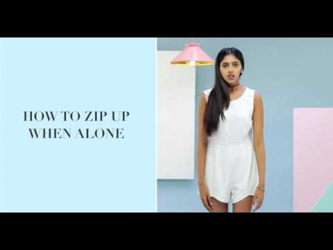 How To Zip Up A Dress All By Yourself