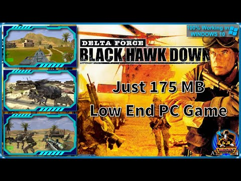 Delta Force Black Hawk Down Full Game download and install in windows 10