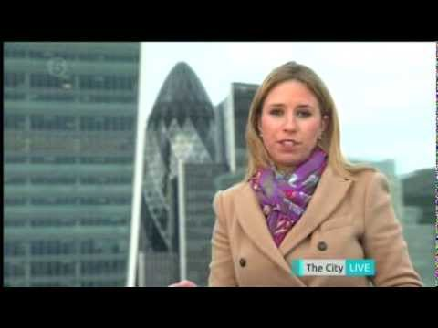 Cordelia Lynch - Five News Royal Mail Share Price Live 10.10.2013