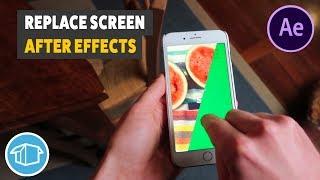 Scherm Vervanging tutorial met behulp van Mocha en de Na-Effecten