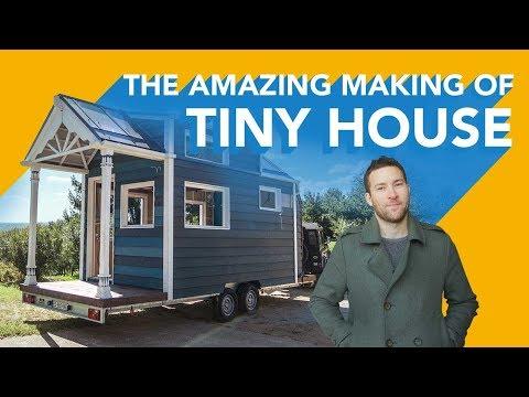 Je veux habiter autour du monde - The Amazing Making Of : Tiny House Livingston [ManoMano]