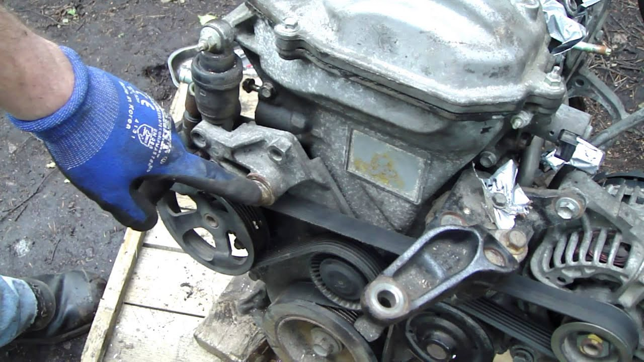 2002 toyota corolla belt diagram ryobi ss30 fuel line how to check and replace drive vvt i engine serpentine