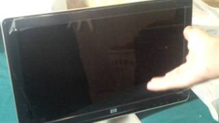 HP 2009M Unboxing