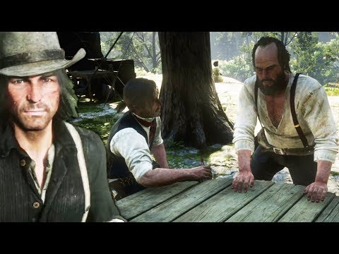 Javier & Bill Think John Marston is a Rat - Red Dead Redemption 2 Camp Event thumbnail