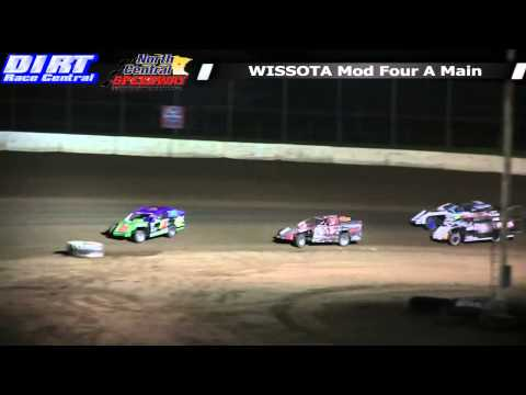North Central Speedway 5 17 14 WISSOTA Mod Four Races