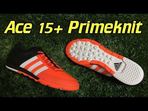 1b5efdaa4 Adidas Ace 15+ Primeknit CG Turf Solar Orange Review + On Feet - YouTube