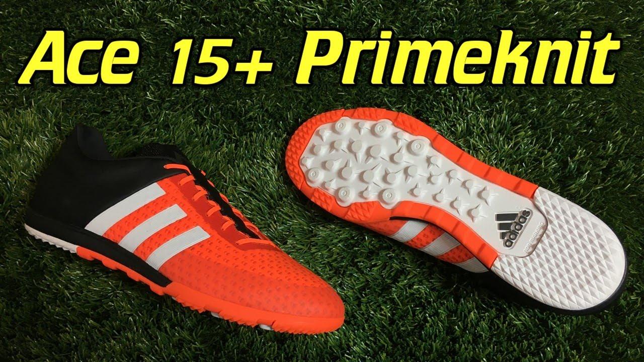 57e895664b3 Adidas Ace 15+ Primeknit CG Turf Solar Orange Review + On Feet - YouTube