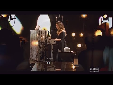Delta Goodrem - 'Dear Life' - Live on The Footy Show