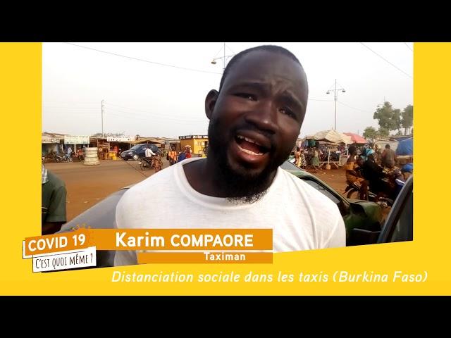 C19CQM - Reporters Citoyens au Burkina Faso