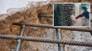 Concrete Removal Method under highs-pressure | Technologies in construction