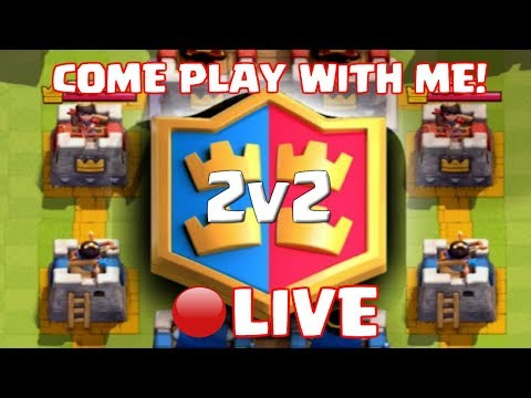 Clash Royale - PLAYING WITH VIEWERS! SONG REQUESTS AND SUPER CHAT CHAT ENABLED!