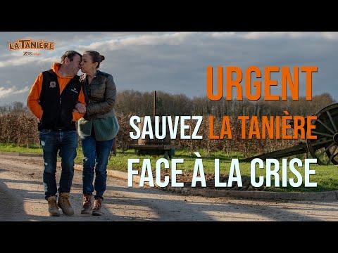 URGENT : SAUVEZ LA TANIÈRE FACE À LA CRISE !
