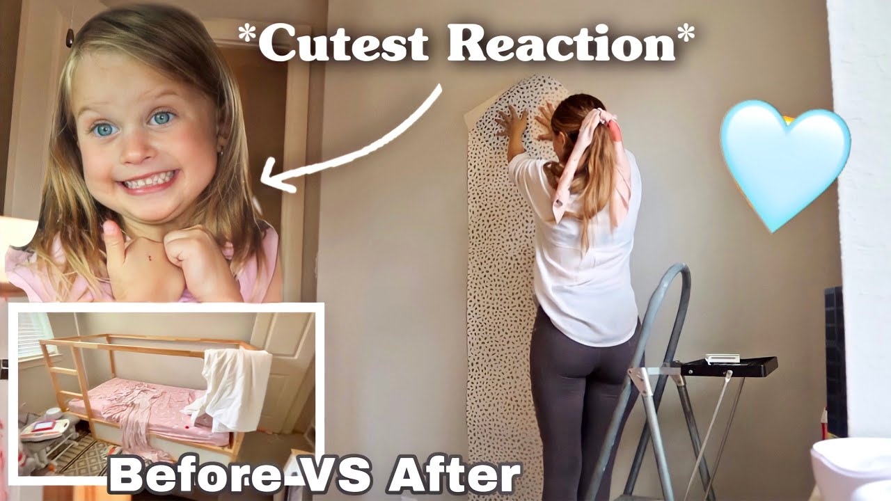 SURPRISING MY DAUGHTER WITH HER DREAM ROOM *emotional*