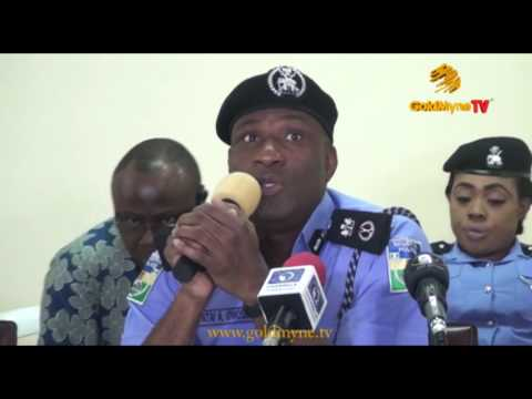 WATCH COMMISSIONER OF POLICE, LAGOS STATE, FATAI OWOSENI PARADE APPREHENDED CORRUPT POLICE OFFICERS