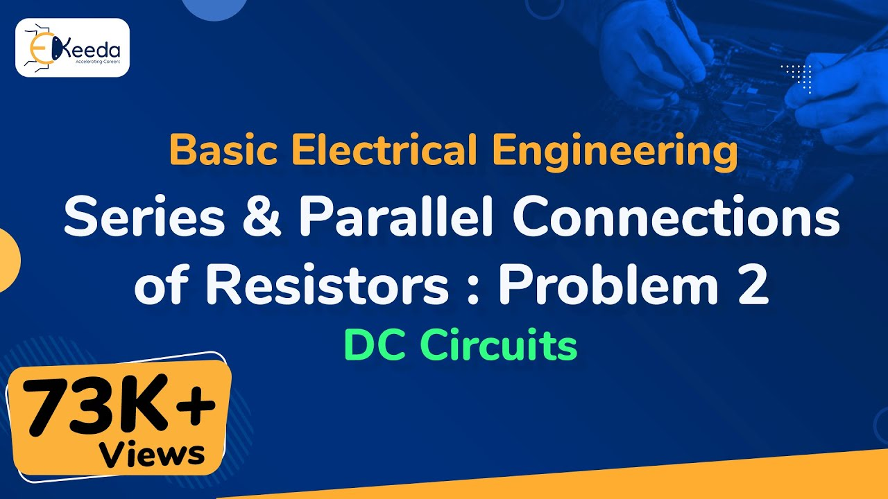 Series Parallel Connections Of Resistors Problem 2 Dc Circuits Bridge Resistor Circuit Electrical Engineering Learn Dccircuits Basicelectricalengineering