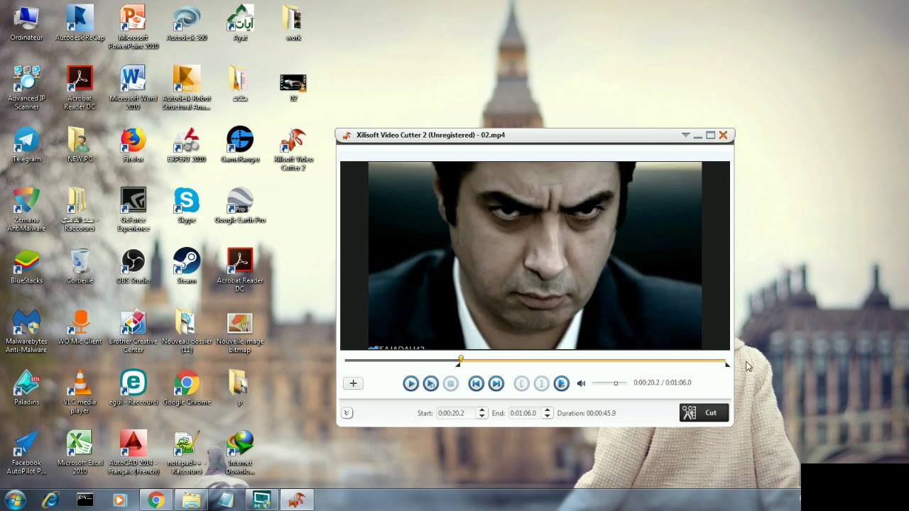 تحميل برنامج قص ولصق الفيديو