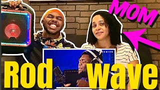 MOM reacts to ROD WAVE (Sky Priority, Heart on Ice, & Genius open mic)