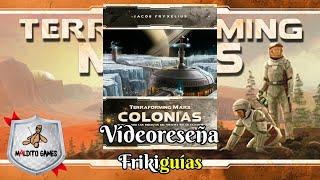 Terraforming Mars: Colonias - Maldito Games - Videoreseña